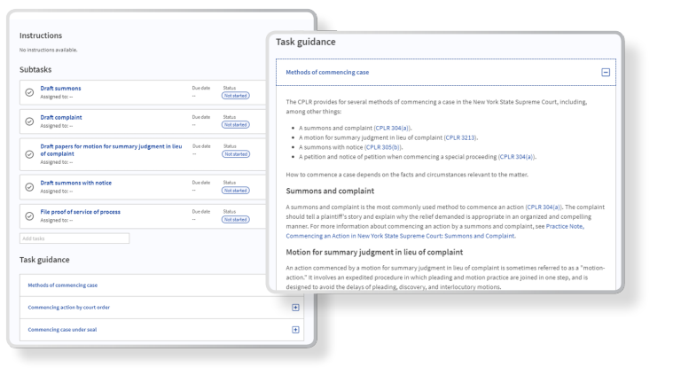 Screenshot of embedded guidance in Panoramic