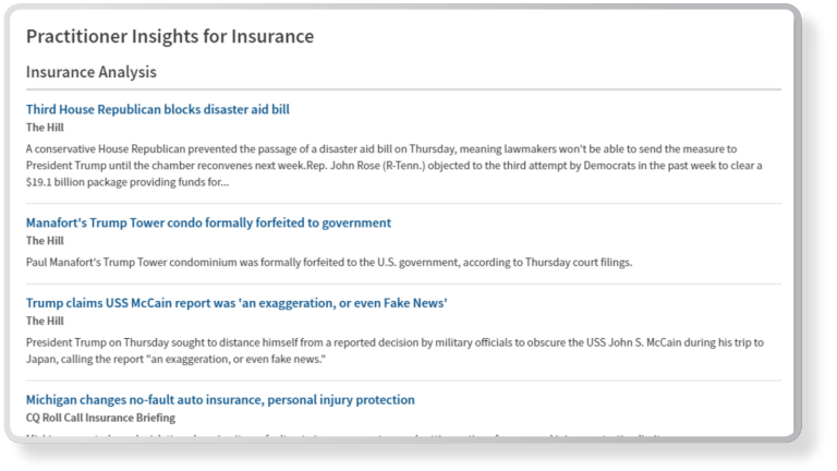Westlaw Edge Authoritative Content Practitioner Insights Screenshot