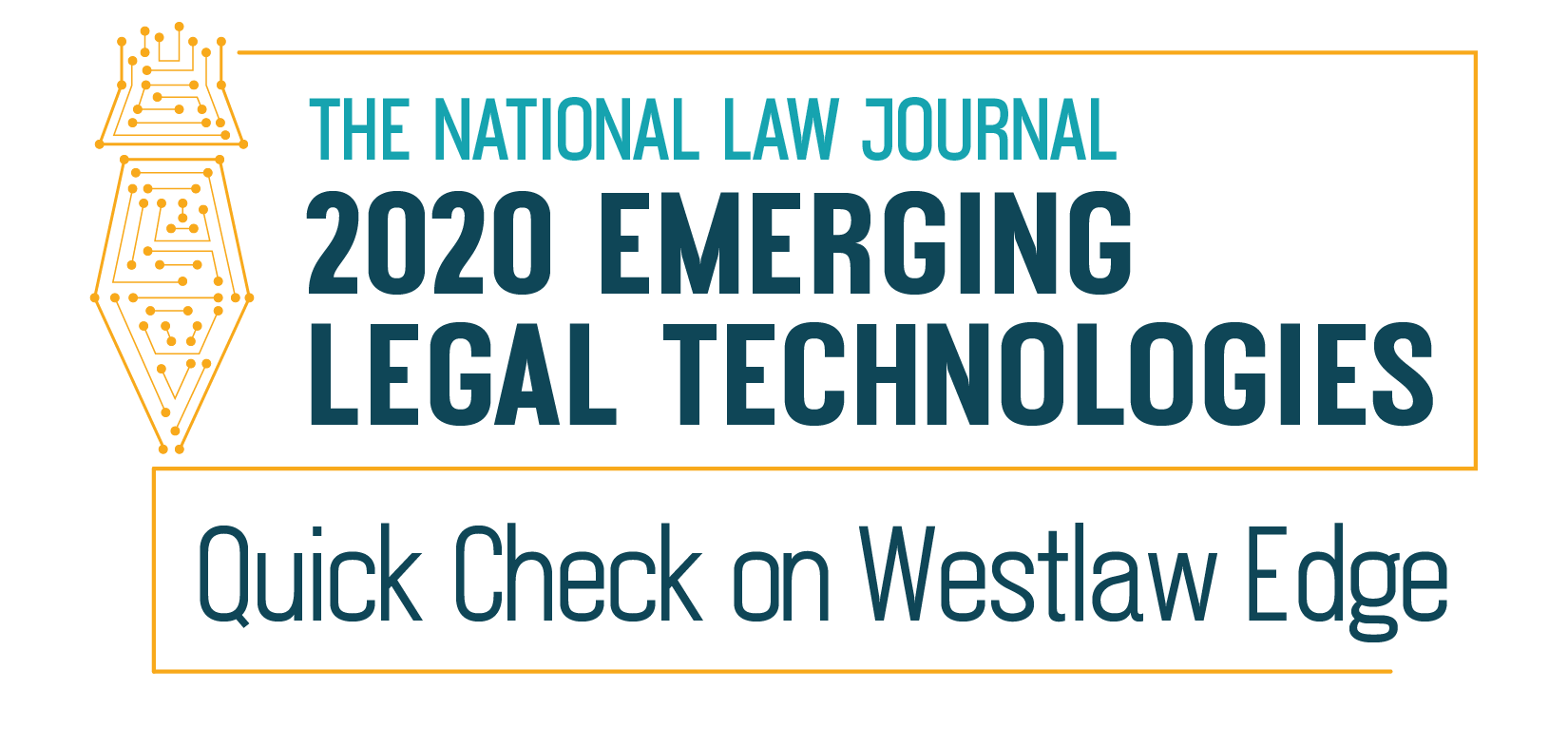 Quick Check on Westlaw Edge 2020 award