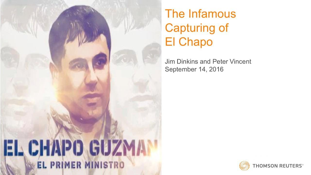 Sinaloa Cartel money laundering and the capture of El Chapo