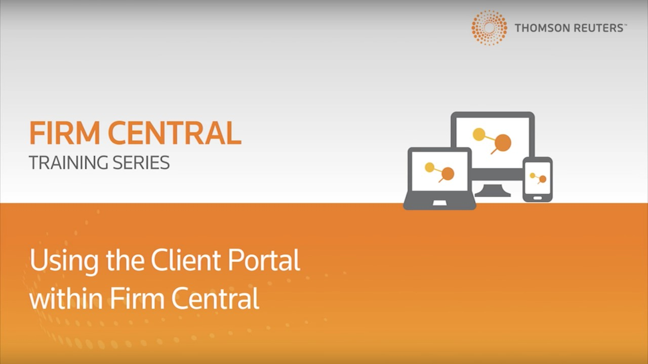 Using the client portal