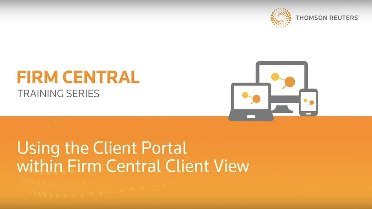 How your clients log in and use the client portal