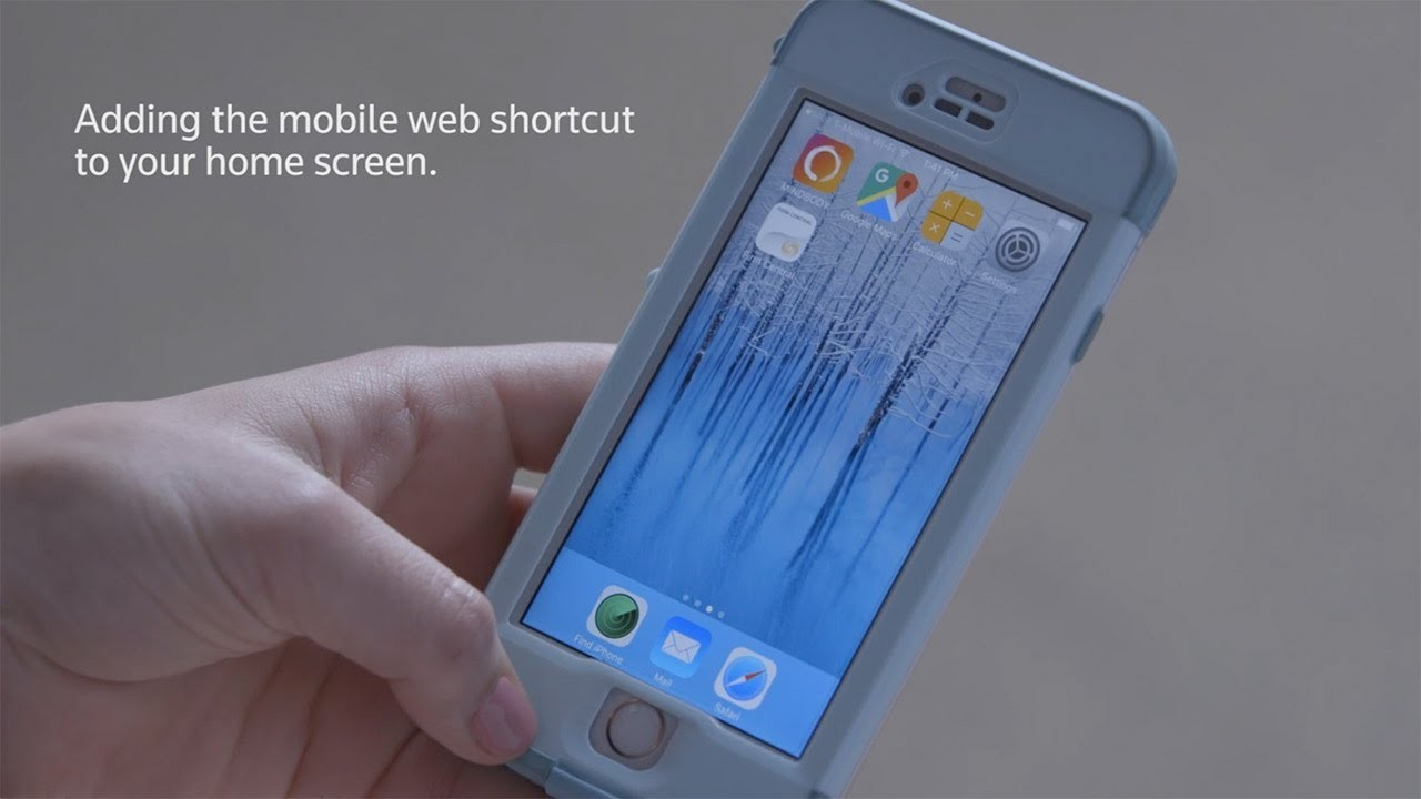 Learn to Set-up a Firm Central iPhone Mobile Shortcut