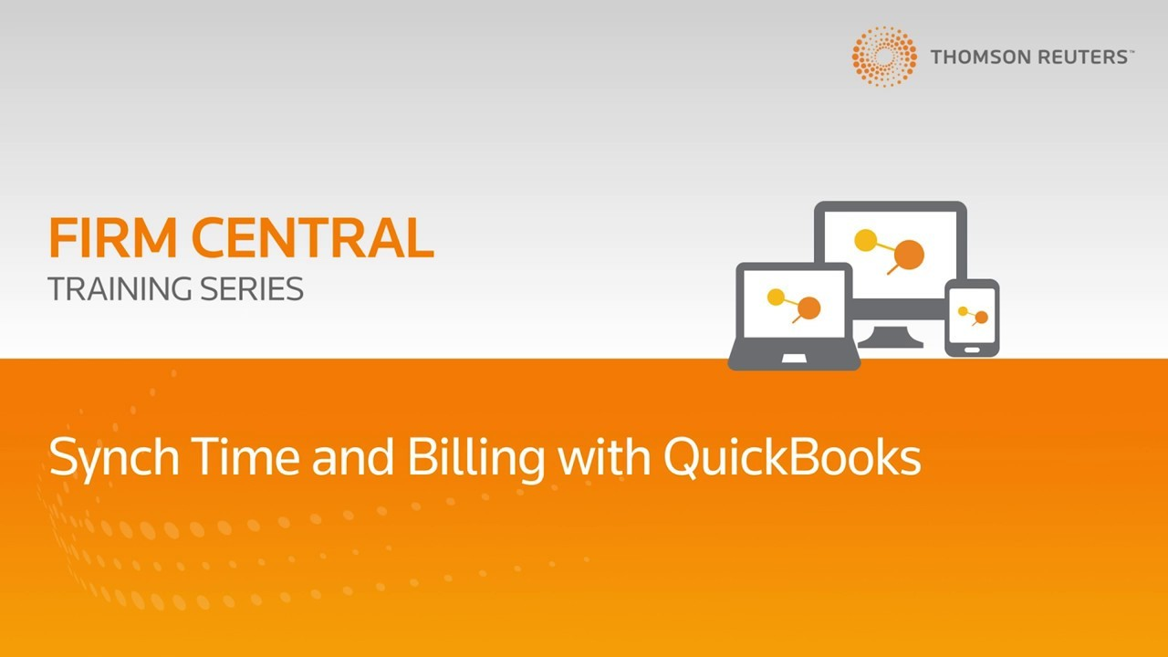 How Firm Central connects and syncs with QuickBooks Online