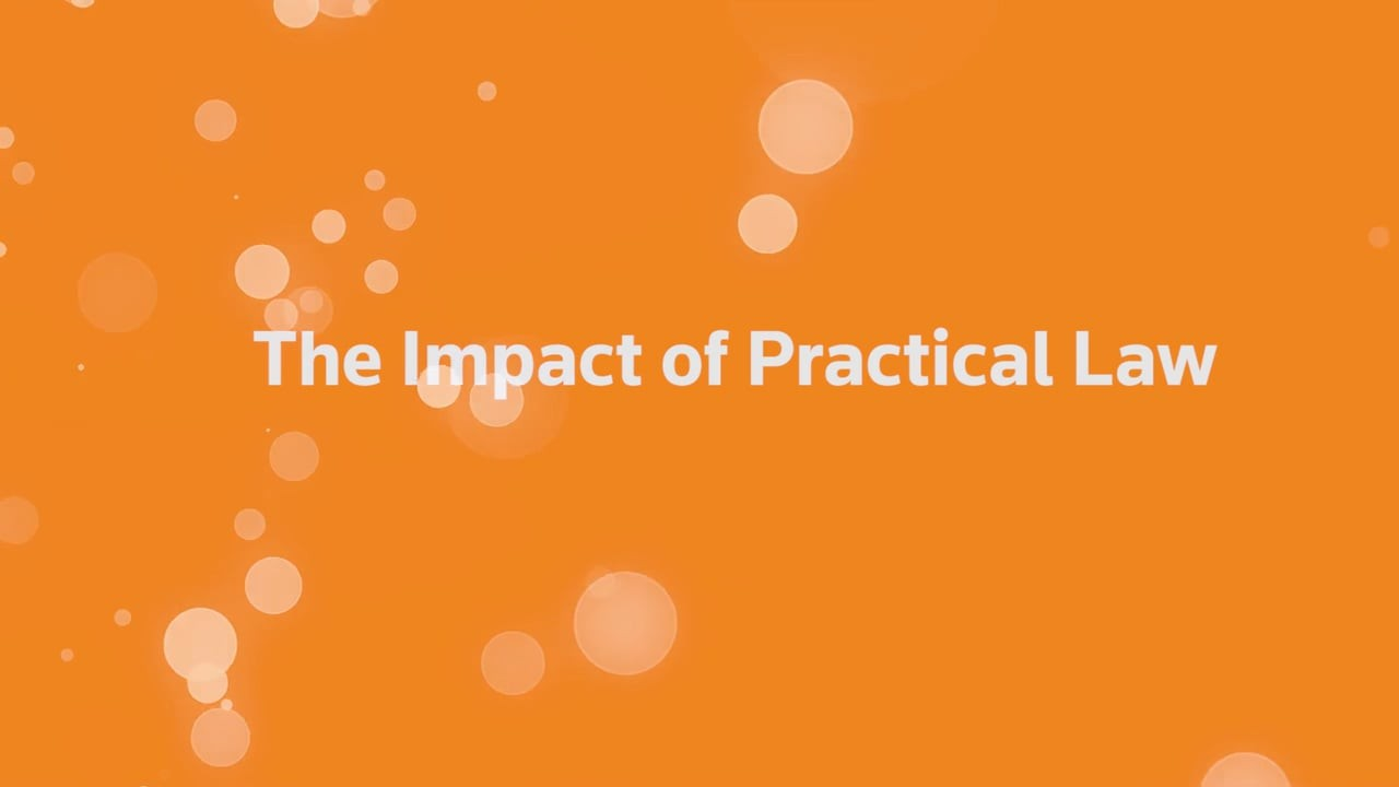 The impact of Practical Law